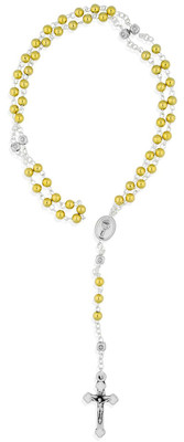 Mini Rosary First Communion Gold