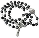 St. Benedict Hematite Rosary