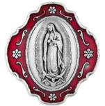 Catholic Rosary and Case Gift Set -  Our Lady of Guadalupe