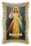 Divine Mercy Plaque with Stand
