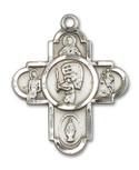 Sterling Silver Sport Medal: