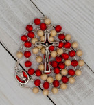 Divine Mercy Two-Tone Rosary Chaplet