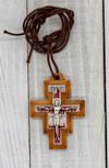 "2"" San Damiano Cross Necklace"