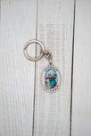 """3"""" Deluxe Holy Subject and Saint Keychain in Full Color (Saint Christopher)"""