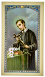 Traditional Holy Cards with Catholic Art and Prayers (Saint Gerard)