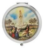 Catholic Pocketbook Mirror (Our Lady of Fatima)