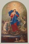 "17"" Our Lady Undoer of Knots Artwork Print"