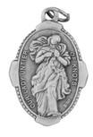 "1"" Traditional Saint Medals (ol undoer of knots)"