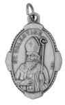 "1"" Traditional Saint Medals (st valentine)"