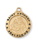 G/SS SML ST. ANTHONY MEDAL