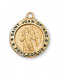 """G/SS ST. JOAN OF ARC 18"""" CH &"""