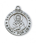 """SS ST. GREGORY 20"""" CHAIN & BOX"""