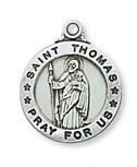 "SS ST THOMAS APOSTLE 20"" CH&BX"