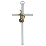 "4"" SILVER CHALICE CROSS"