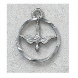 "PEWTER HOLY SPIRIT 18""CH&BX"