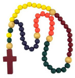 Kids Wood Rosary FREE SHIPPING!