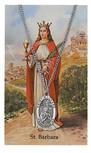 ST BARBARA PRAYER CARD SET