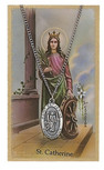 ST CATHERINE PRAYER CARD SET