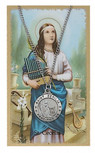 ST CECILIA PRAYER CARD SET