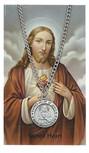 ST SACRED HEART PRAYER CARD ST