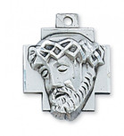 """PEWTER ECCE HOMO WITH 24"""""""