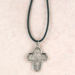 """PEWTER 4WAY 24""""CORD/CARD"""