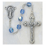 6MM AB ZIRCON/DECEMBER ROSARY