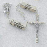 7MM AB CRYSTAL MYSTERY ROSARY