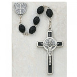 6X8MM BLACK ST. BENEDICT ROSY