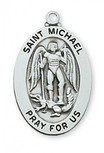 STERLING SILVER ST MICHAEL