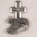 DAUGHTER DRIVE SAFE VISOR CLIP