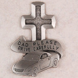DAD DRIVE SAFE VISOR CLIP