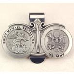 ARMY VISOR CLIP/CARDED