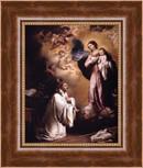 The Virgin Appears to Saint Bernard