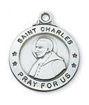 PEWTER ST CHALRES MEDAL WITH