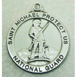PEWTER NATIONAL GUARD 24 CH&BX""