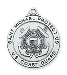 COAST GUARD MEDAL 24 CHAIN""