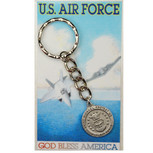 AIR FORCE KEYRING/PRAYER CARD