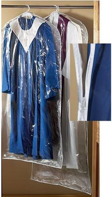 Large Vestment or Robe Garment Bag Clear