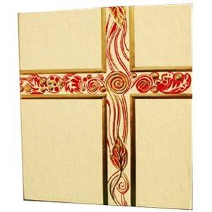 White/Gold Liturgical Binder