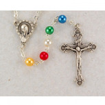 5MM PEARL MISSION ROSARY