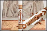 Luke 24 Paschal Candle