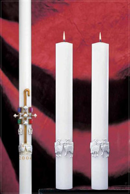 The Good Shepherd Complementing Altar Candles (80986225)