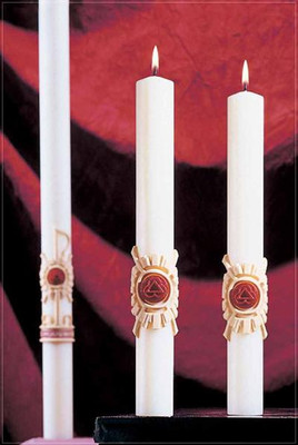 Holy Trinity Complementing Altar Candles (80952502)