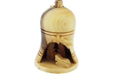 Bell Nativity Ornament