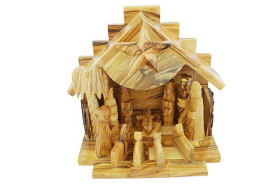 Olive Wood Nativity Set