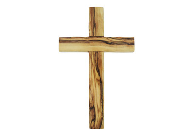 Olive Wood Cross 8''