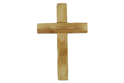 Olive Wood Cross 6''