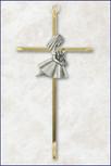 First Communion Girl Wall Cross
