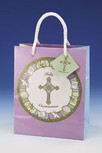 First Communion 9'' Deluxe Gift Bag